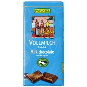 Ciocolata bio lapte integral HIH 100g - Rapunzel