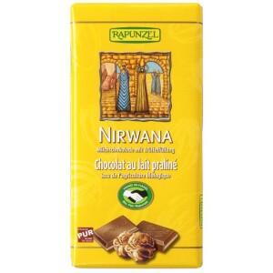 Ciocolata Bio Nirwana cu praline HIH 100g - Rapunzel