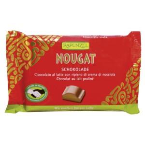 Ciocolata Bio Nougat Cristallino HIH 100g - Rapunzel