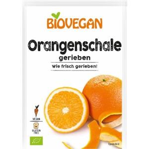 Coaja de portocala rasa bio 9g - Biovegan