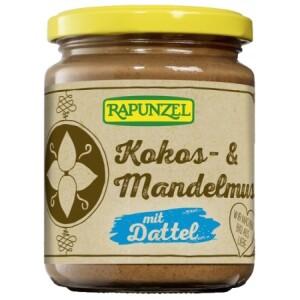 Crema bio cu cocos migdale si curmale 250g - Rapunzel