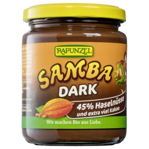 Crema Bio Samba dark 250g - Rapunzel