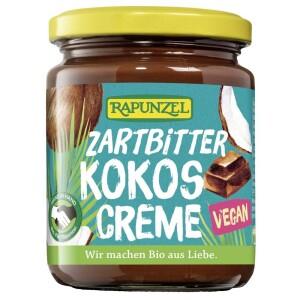 Crema de ciocolata amaruie cu cocos 250g - Rapunzel