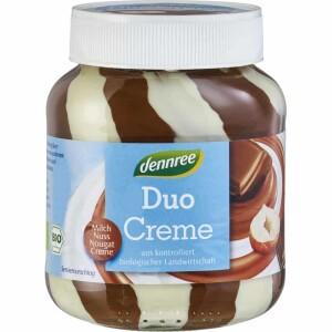 Crema de ciocolata bio cu alune si lapte 400g - Dennree
