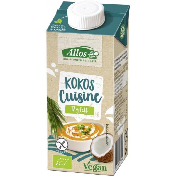 Crema de cocos bio pentru gatit 200ml - Allos