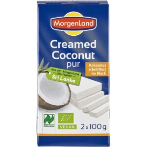 Crema de cocos bio 200g - MorgenLand