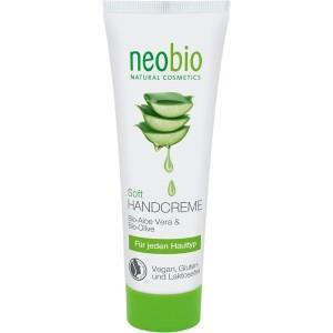 Crema de maini cu aloe vera si ulei de masline 75ml - NeoBio