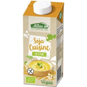 Crema de soia lichida pentru gatit 200ml - Allos