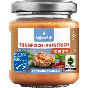 Crema de ton cu tomate 110g - Followfish
