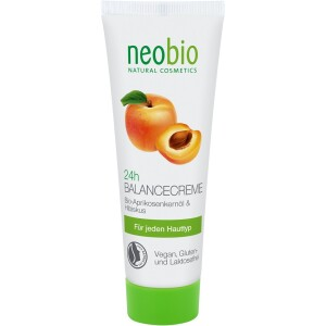 Crema echilibrare 24H cu ulei din samburi de caise 50ml - NeoBio