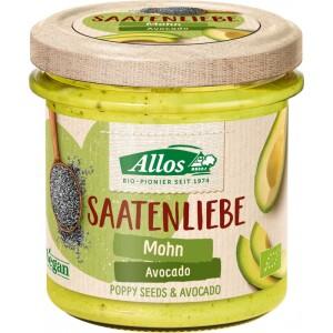 Crema tartinabila din seminte cu mac si avocado FARA GLUTEN 135g - Allos