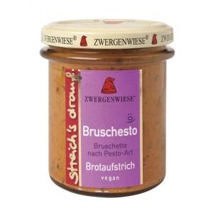 Crema tartinabila vegetala Bruschesto cu bruscheta si pesto 160g - Zwergenwiese
