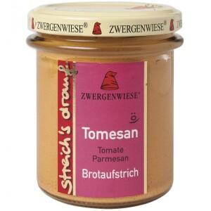 Crema tartinabila vegetala Tomesan cu tomate si parmezan 160g - Zwergenwiese