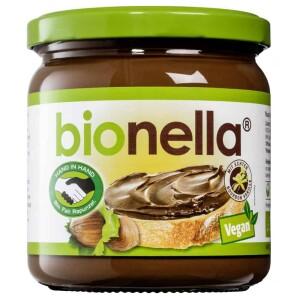 Crema vegana de alune cu ciocolata Bionella 400g - Bionella