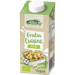 Crema vegetala pentru gratinat FARA GLUTEN 200ml - Allos