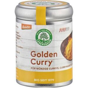 Curry auriu pentru orez legume si carne 55g - Lebensbaum