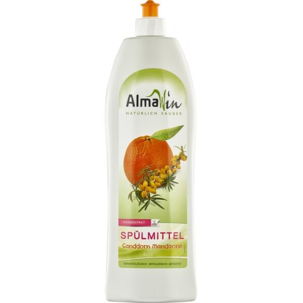 Detergent de vase concentrat cu catina si mandarine 1l - AlmaWin