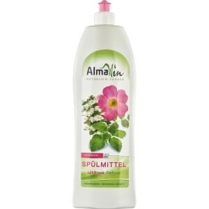 Detergent de vase cu trandafir salbatic si melisa 1l - AlmaWin