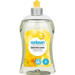 Detergent lichid de vase cu lamaie 500ml - Sodasan