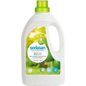 Detergent lichid pentru rufe colorate 1.5L - Sodasan