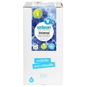 Detergent lichid universal cu limeta Bag-in-Box 5L - Sodasan