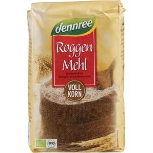 Faina bio de secara integrala 1kg - Dennree