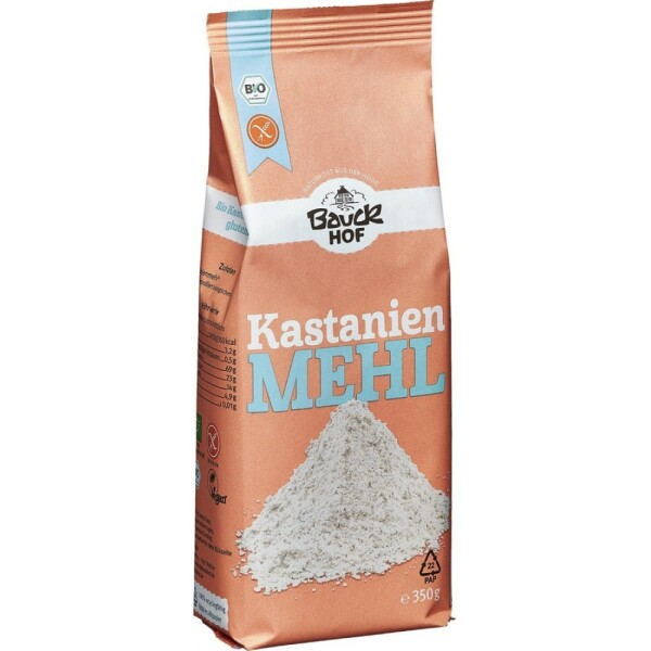Faina de castane bio FARA GLUTEN 350g - Bauck Hof