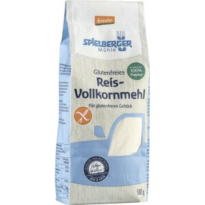 Faina de orez bio integral FARA GLUTEN Demeter 500g - Spielberger