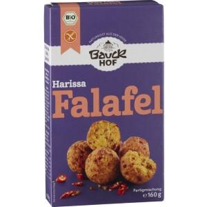 Falafel Harissa cu ardei si chili 160g - Bauck Hof