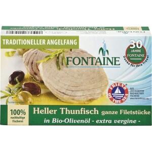 File de ton alb in ulei bio de masline 120g - Fontaine