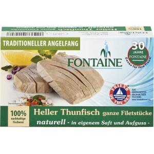 File de ton alb natur 120g - Fontaine
