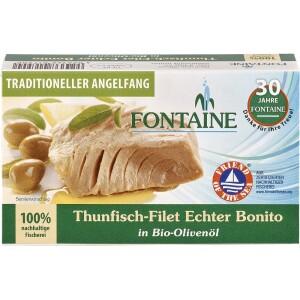 File de ton in ulei bio de masline 120g - Fontaine