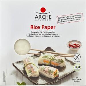 Foi de orez pentru rulouri de primavara 20 buc 150g - Arche