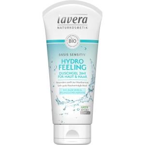 Gel de dus 2 in 1 Sensitiv Hydro Feeling 200ml - Lavera