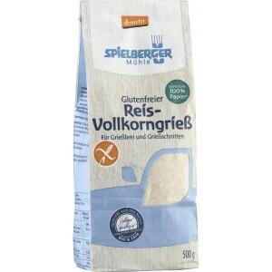 Gris din orez bio FARA GLUTEN Demeter 500g - Spielberger