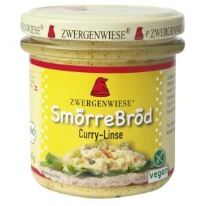 Gustare cu curry si linte bio fara gluten 140g - Zwergenwiese