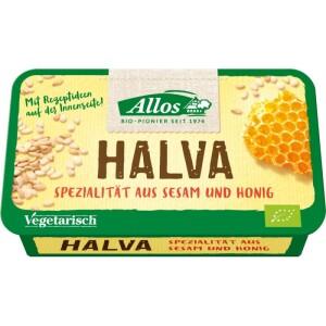 Halva bio cu miere 75g - Allos