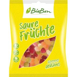 Jeleuri bio acrisoare de fructe VEGANE 100g - BioBon