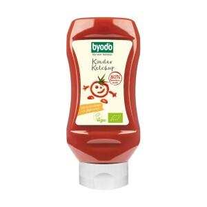 Ketchup bio pentru copii cu 80% tomate 300ml - Byodo