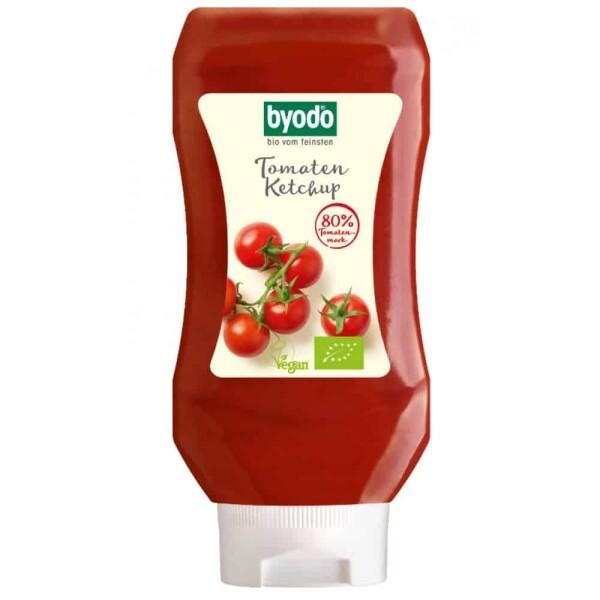 Ketchup de tomate in flacon FARA GLUTEN 300ml - Byodo