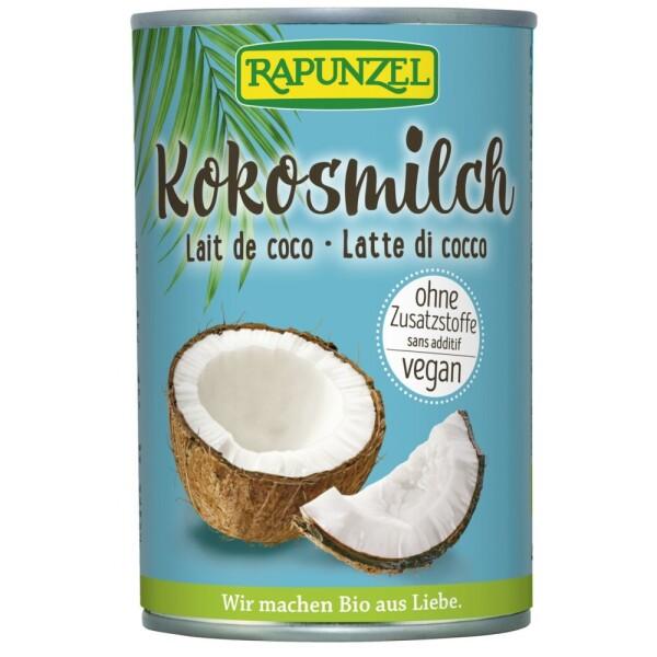 Lapte de cocos bio 400ml - Rapunzel