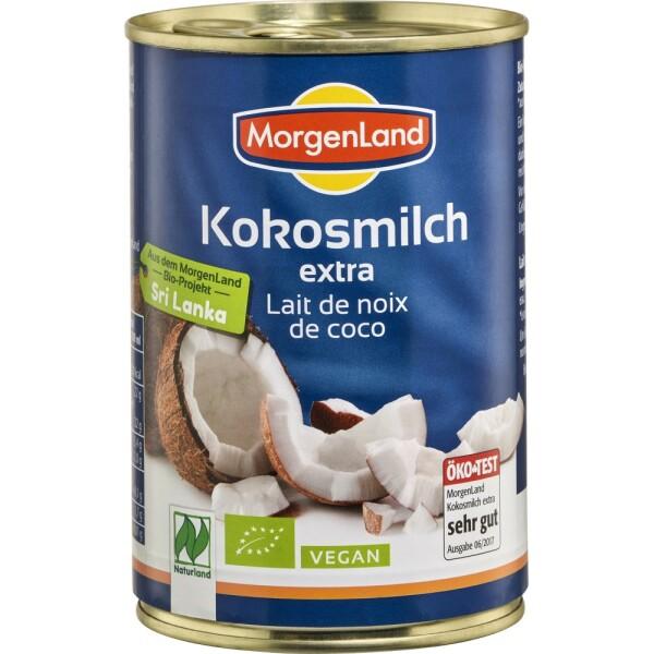 Lapte de cocos ecologic 400ml - MorgenLand