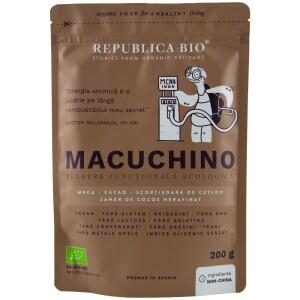 Macuchino pulbere functionala ecologica 200g - Republica bio
