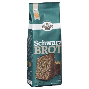 Mix de faina pentru paine neagra FARA GLUTEN 500g - Bauck Hof