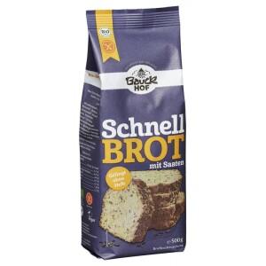 Mix de faina pentru paine rapida cu seminte FARA GLUTEN 500g - Bauck Hof