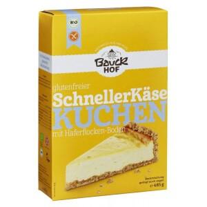 Mix de faina pentru prajitura cu branza FARA GLUTEN 485g - Bauck Hof