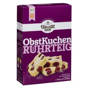 Mix de faina pentru prajitura cu fructe FARA GLUTEN 400g - Bauck Hof