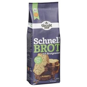 Mix de paine rapida cu condimente FARA GLUTEN 500g - Bauck Hof