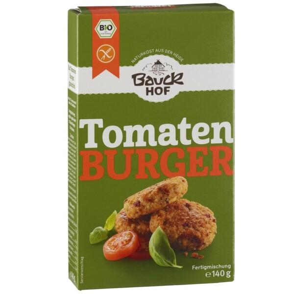 Mix pentru burger cu tomate si busuioc FARA GLUTEN 140g - Bauck Hof