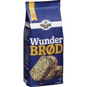 Mix pentru paine integrala cu seminte FARA GLUTEN 600g - Bauck Hof